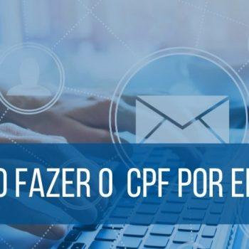 como fazer cpf por e-mail