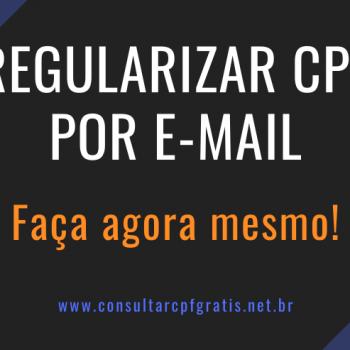 regularizar cpf por e-mail